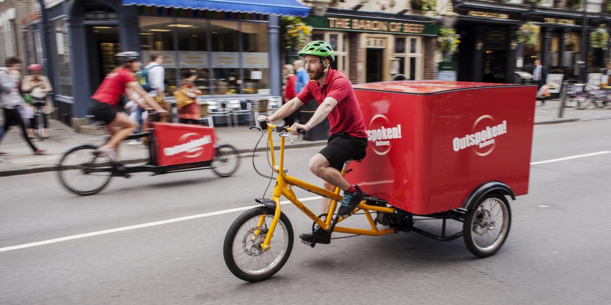 cargobikes in action