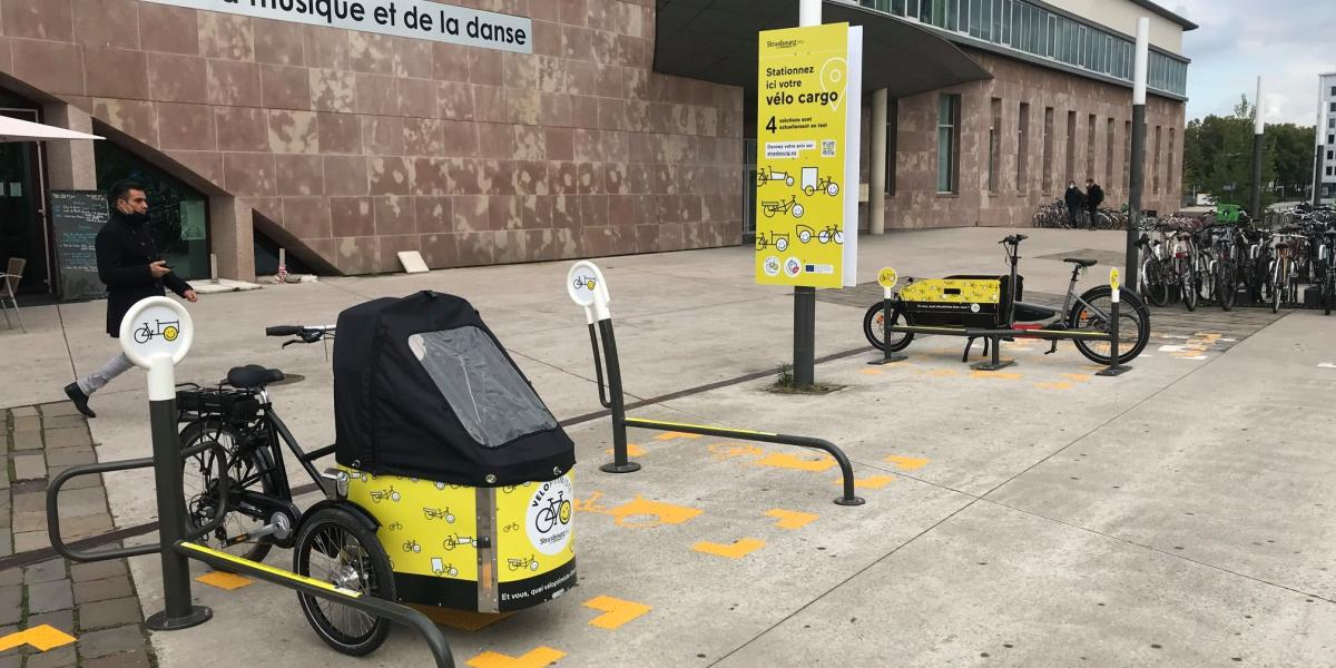 Cargo Bike Parking Space Testing