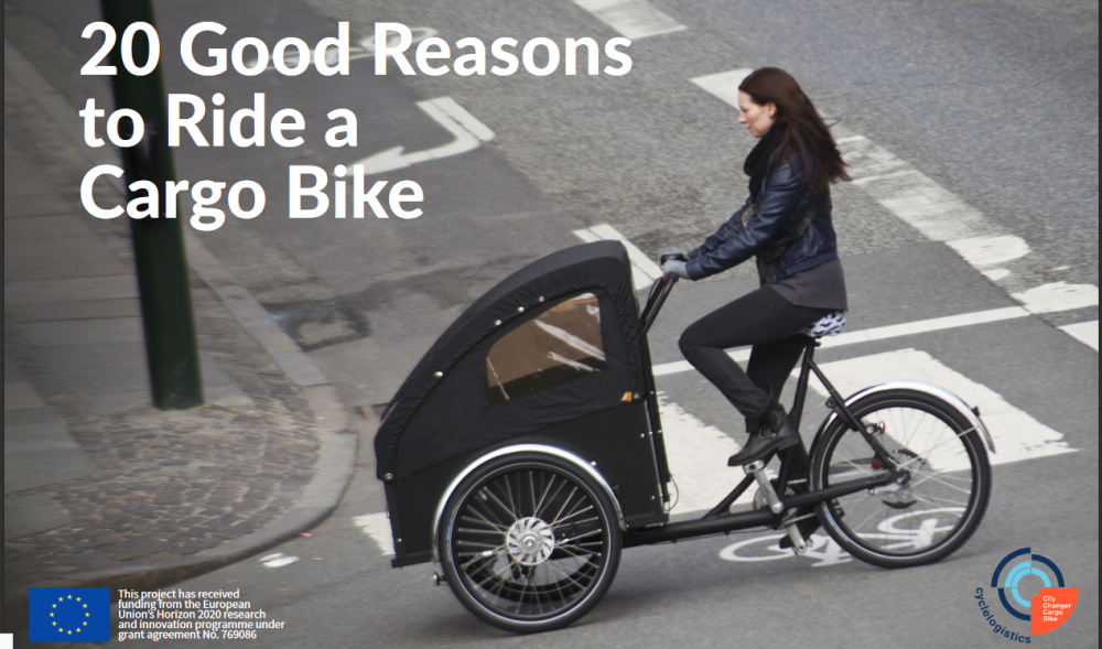 20 good reasons to ride a cargo bike