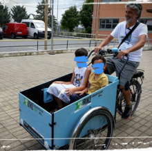Promoting cargo bikes and family cycling tourism in Greece