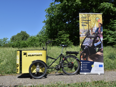 Cargo Bike Fleet in Strasbourg